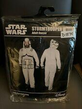 New Disney Star Wars StormTrooper Adult Size S/M Union Suit Sleepsuit Pajamas