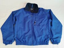 PATAGONIA Vintage 90's Men's Large Full Zip Blue Lined Bomber Jacket Size Small
