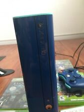 Xbox 360 E (Navy Blue ) LIMITED EDITION 500gb Console  Bundle + 6 Games