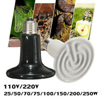 Infrared Ceramic Emitter Heat Light Bulb Lamp For Reptile Pet Brooder 110V US