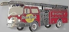 Hard Rock Cafe SYDNEY 2000 FIRE TRUCK (Re-Opening) PIN After Cafe Fire HRC #9489
