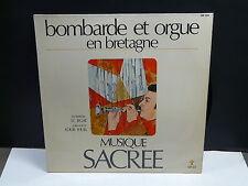 Bombarde et orgue Bretagne Musique sacrée J.C. JEGAT / LOUIS IHUEL ARFOLK SB305
