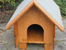Outdoor Wood Shelter Cat Small Dog Rabbit kennel House PICK UP ONLY a/s small
