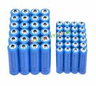 24x AA 3000mAh + 24x AAA 1800mAh 1.2V NI-MH Rechargeable Battery 2A 3A Blue Cell