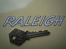 Raleigh esbozado texto en forma de pegatinas. Bicimoto Bicicleta Wisp Grifter Chopper Etc..
