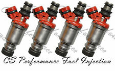 OEM Denso Fuel Injectors Set (4) 23250-16160 Rebuilt & Flow Matched in the USA!