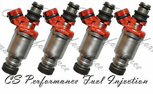 OEM Denso Fuel Injectors Set for 1993-1997 Toyota Corolla 1.8L I4 93 94 95 96 97