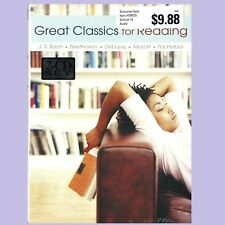 Great Classics for Reading: Relaxation Music (2-CD SET) Factory Sealed BRAND NEW