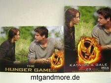 The Hunger Games Movie Trading Card - 1x #029 Katniss & Gale