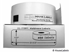 2 Rolls of DK-1201 Brother-Compatible Address Labels BPA FREE
