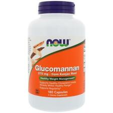Glucomannan 575mg 180 Caps NOW Foods