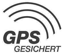 4x GPS gesichert AUTO Aufkleber GPRS TRACKING ORTUNG SCHUTZ AUTO KFZ PKW LKW