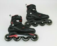 Mens Zetrablade Inline Skates red/black Men Size 8