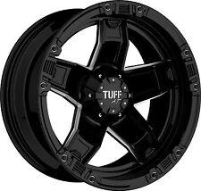 Tuff T10 9x18 8x165,1 Felgen für Hummer H1 H2 Dodge Ram Offroad Style Neu