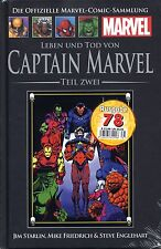 Officiel MARVEL Bande dessinée recueil 78 (C 25) mort capitaine Marvel HACHETTE COLLECTION