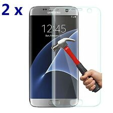 2x For Samsung Galaxy S7 Edge HD Soft Full Cover TPU Screen Protector