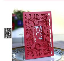 Rose Frame Craft Leaves Background Metal Cutting Dies  Card Scrapbooking Wedding