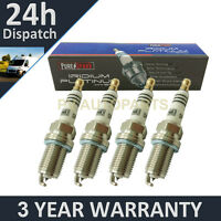 4X IRIDIUM TIP SPARK PLUGS FOR RENAULT CLIO III 1.6 16V GT 2009 ONWARDS