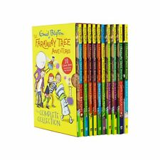 Enid Blyton Faraway Tree Adventures 10 Books Children Pack Paperback Box Set