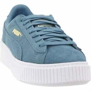 bádminton Relativo Aniquilar  Las mejores ofertas en Zapatos ATLÉTICOS PUMA Ante Azul para Mujeres | eBay