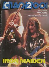 CIAO 2001 19 1992 Iron Maiden Tikaram Pale Saints Paul McCartney Gino Vannelli