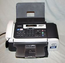 Brother Color Fax Copier Phone Super G3 1860C All New Ink Manual & Jack Splitter