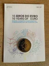 "**PORTUGAL 2 EURO ""10 JAHRE EURO"" 2012 BU **"
