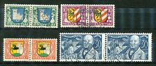 Zwitserland  241 - 244 gebruikte paren