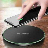 15W Fast Qi Wireless Charger Charging Dock Pad Mat For Samsung iPhone8 XR XS Max