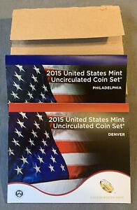 2015 Uncirculated Mint Set