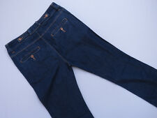 *F-010 COUNTRY ROAD BOOTCUT STRETCH BLUE WASH DENIM JEANS SIZE 10 AS NEW