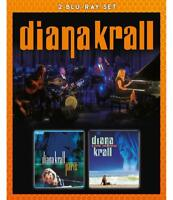 DIANA KRALL - LIVE IN PARIS & LIVE IN RIO (BLURAY)  2 BLU-RAY NEU