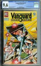 VANGUARD ILLUSTRATED #2 CGC 9.6 WHITE PAGES // 1ST APP OF STARGRAZERS