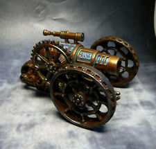 Techno-demonic cannon for 28mm fantasy wargaming 9th Age Chaos Dwarf Scaven Warh