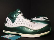 2007 Nike ZOOM BB II 2 BASKETBALL WHITE FOREST GREEN SILVER GREY 317993-132 11