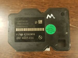 *Opel Mokka (Buick Encore) ABS Pump Modulator Control Unit 42563014