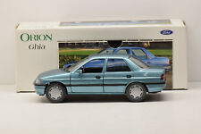1:24 Schabak Ford Orion Ghia LHD Blue spacciatori NEW in Premium-MODELCARS