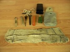 EAST GERMAN RG57 MILITARY CLEANING KIT WITH VINYL POUCH 7.62X39 NVA DDR