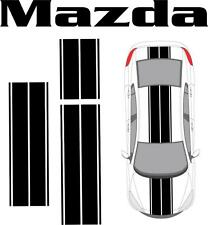 Mazda 2 3 6 RX-7 RX-8 Miata Dual Rally Racing Stripes Vinyl Decal Graphics Car