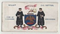 Worshipful Company of  Scrivners London England Notary 100+ Y/O Trade  Card