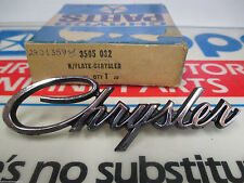 "Mopar ""NOS"" 1969-73 Chrysler Trunk Name Plate Emblem 2901359"