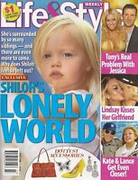 Life & Style Magazine June 2008 Shiloh Jolie-Pitt Jessica Simpson Lindsay Lohan