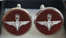 Made to Order Parachute Regiment (Paras) Cufflinks - A Great Gift