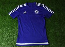 CHELSEA LONDON ENGLAND 2015/2016 FOOTBALL SHIRT JERSEY TRAINING ADIDAS ORIGINAL