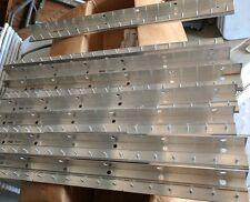 "1 Vinyl Strip Door Curtain Mounting Bar 36"" Cooler Freezer  Hardware aluminum"