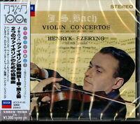 HENRYK SZERYNG-J.S.BACH; VIOLIN CONCERTOS-JAPAN CD Ltd/Ed C41