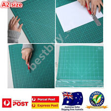 A2 Large Cutting Craft Mat PVC Thick Self-Healing Office Home Paper Tool Green