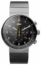 Braun Mens Prestige Silver Tone BN0095BKSLBTG Watch - 17% OFF!