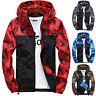 Mens Waterproof Hiking Jacket Coat Winter Ski Outdoor Sport Casual Hoodie To.CA