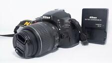 Nikon D5100 16.2MP Digital SLR Camera - Black (Kit w/ AF-S DX VR 18-55mm)